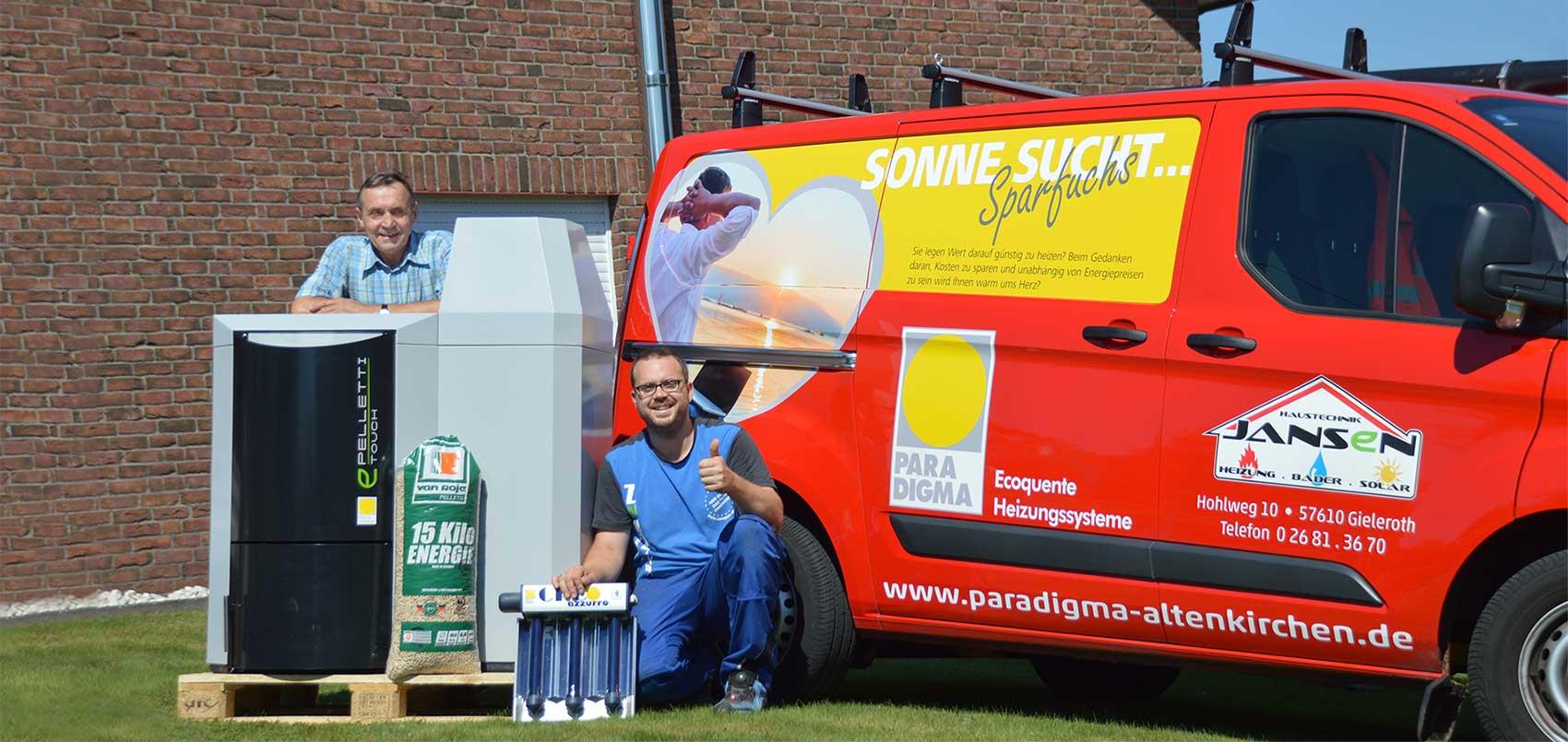 Fachbetrieb für Heizung und Solar in Altenkirchen