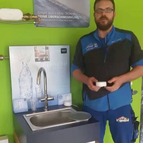 Trinkwasserwoche Tag 7 #schutzvorwasserschäden #grohe #grohesense #grohesenseguard #haustechnikjansen #leckageschutz #keineüberschwemmung #trinkwasserprofi #drinklocalwater #wasseristleben