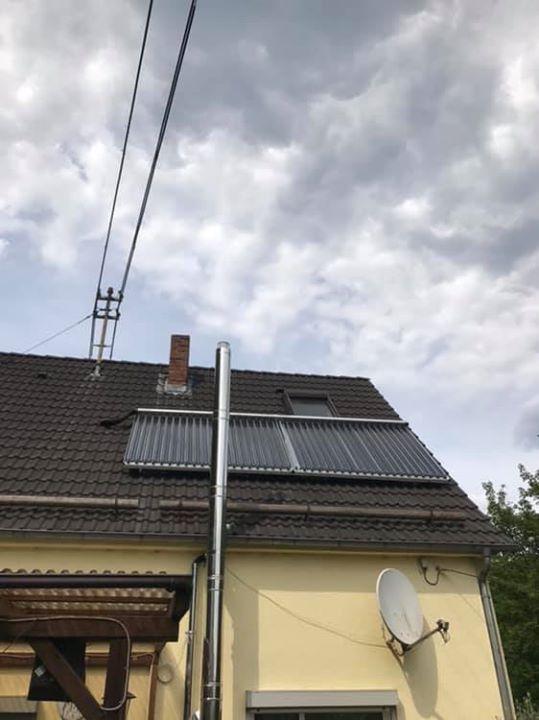 Zunkunftsheizung fertiggestellt! Herzstück ist das Sonnenkraftwerk von Paradigma mit Brennglaskollektoren und Multienergie-Hygienespeicher AquaExpresso für…