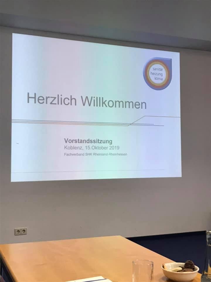 Heute Sitzungstag. #shkdienst #fachverbandshk #ehrenamt·Koblenz·&…