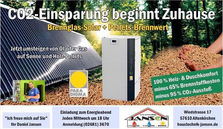 Wir sind DIE ENERGIEWENDER im Westerwald! Jetzt umsteigen auf 100% Sonnenenergi…