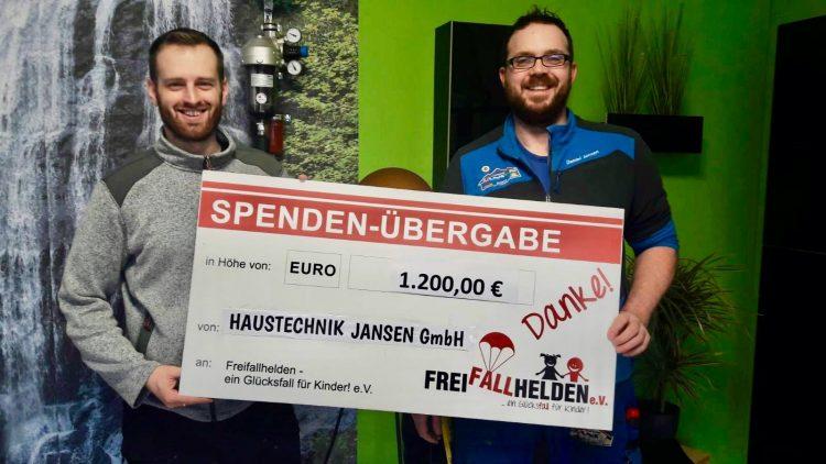 ***Alle Jahre wieder*** … kommt die Firma Haustechnik Jansen GmbHdaher und sp…